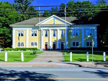 Town hall. In Langley Canada Stock Images