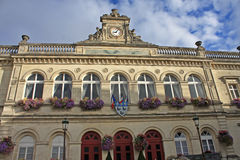 Town Hall, Laon. Exterior of the town hall in Laon, France Stock Image