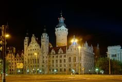 Town Hall in Leipzig Royalty Free Stock Photo