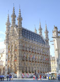 Town Hall in Leuven, Belgium Stock Photos
