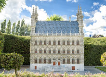 Town hall of Leuven Royalty Free Stock Photo