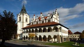 Town Hall, Levoca, Slovakia Royalty Free Stock Image