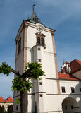 Town Hall in Levoca Stock Image