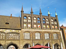 Town hall of Luebeck, Germany Stock Image