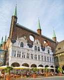 Town hall of Luebeck, Germany Royalty Free Stock Photography