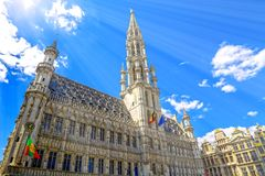 Brussels in Belgium royalty free stock photography
