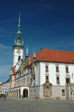 Town Hall on the main square of Olomouc. Czech Republic royalty free stock images