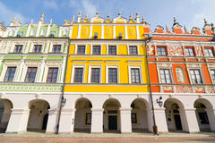 Town Hall, Main Square (Rynek Wielki), Zamosc, Poland Stock Image