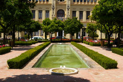 Town hall of Malaga. Stock Image