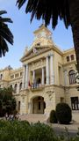 Town hall - Malaga-Andalusia-Europe royalty free stock photography