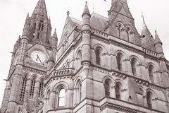 Town Hall, Manchester Stock Photography