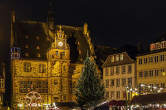 Town hall, Marburg Stock Images