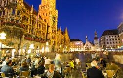 The town hall in the Marienplatz royalty free stock photos
