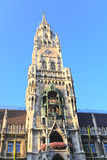 The town hall in the Marienplatz Royalty Free Stock Photography