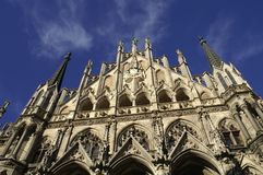 Town hall at the Marienplatz Royalty Free Stock Photo