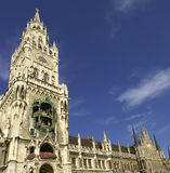 Town hall at the Marienplatz Stock Photos