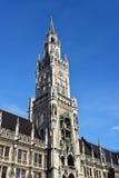 Town hall at Marienplatz Munich Stock Images
