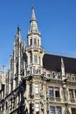 Town hall at Marienplatz Munich Royalty Free Stock Image