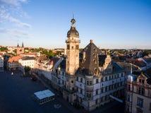 Town hall market in Altenburg Thuringia Stock Image
