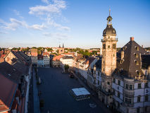 Town hall market in Altenburg Thuringia Royalty Free Stock Images