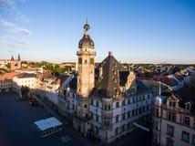 Town hall market in Altenburg Thuringia Stock Photo