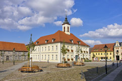 Town Hall And Market Place Royalty Free Stock Image