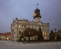 Town Hall and market square in Jaroslaw. Poland Royalty Free Stock Photo