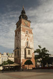 Town Hall on the market square. Krakow, Poland Stock Photography