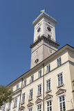 Town Hall in Market Square. Lviv, Ukraine. Royalty Free Stock Photography