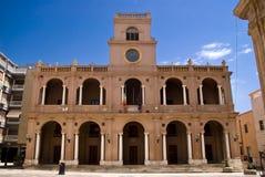 Town Hall of Marsala, Italy Royalty Free Stock Photography