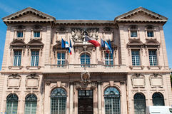 Town hall in Marseille Stock Photos