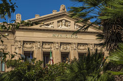 Town Hall Messina Sicily Royalty Free Stock Image