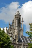 Town hall of Middelburg Stock Photography
