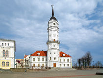 Town hall of Mogilev, Belarus Royalty Free Stock Photography