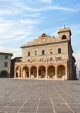 Town Hall in Montefalco, Umbria, Italy Stock Photography