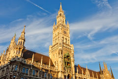 Town Hall in Munich stock photography