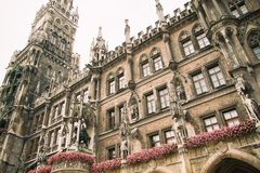 TOWN HALL IN MUNICH Royalty Free Stock Image