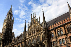 Town Hall, Munich Stock Photography