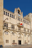 Town hall of Narbonne Stock Image