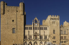 Town Hall of Narbonne,Languedoc-Rousillon, Royalty Free Stock Photo