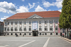 Town Hall at Neuer Platz, Klagenfurt Stock Images