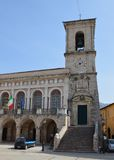 Town Hall, Norcia. Stock Photography