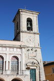 Town Hall of Norcia. The Town Hall of Norcia. Umbria, Italy Stock Photo