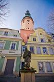 Town hall in Olawa, Poland Royalty Free Stock Photos