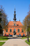 Town hall of old Gdansk Royalty Free Stock Photography