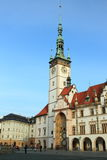 Town Hall in Olomouc Royalty Free Stock Photos
