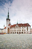 Town Hall in Olomouc, Czech Republica. Royalty Free Stock Image