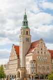 Town Hall in Olsztyn Stock Images