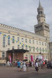 Town hall of Opole, Poland Stock Photos