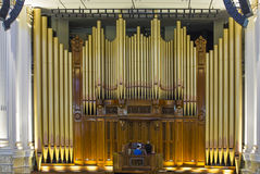 Town Hall Organ, Brisbane Royalty Free Stock Images